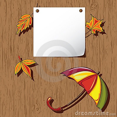Autumn background. Thanksgiving card