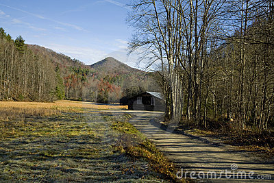 Autumn, Barn, Cataloochee Cove