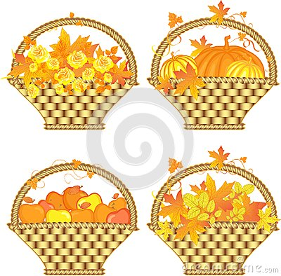 Autumn baskets