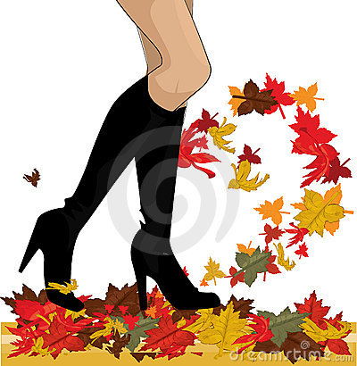 Free Autumn Boots Royalty Free Stock Photo - 15781455