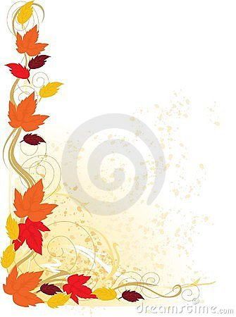 Free Autumn Border Stock Photography - 4562672
