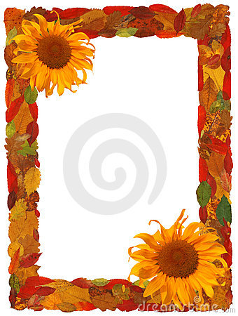 Free Autumn Border Royalty Free Stock Images - 6251229