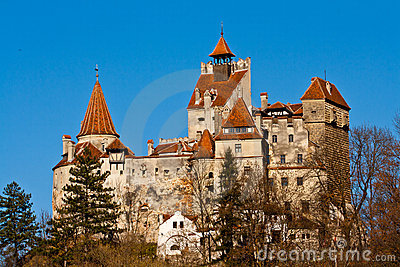Autumn at Bran Castle (Dracula s Castle)