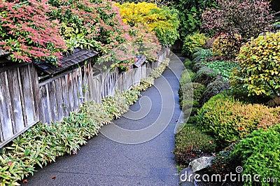 Autumn butchart gardens