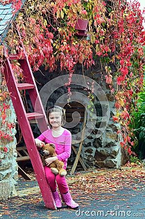 Free Autumn Child Stock Photos - 27091893