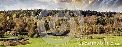 Autumn colors and landscape