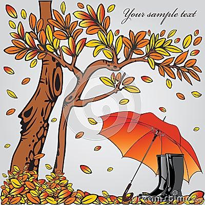 Autumn composition.