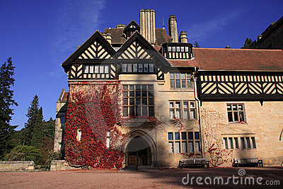 Autumn at Cragside House