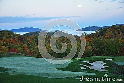 Autumn Dawn Mountain Golf Course