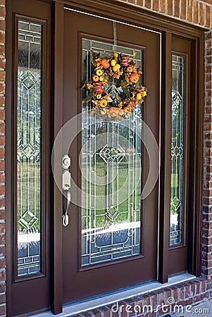 Free Autumn Door Royalty Free Stock Photos - 6545888