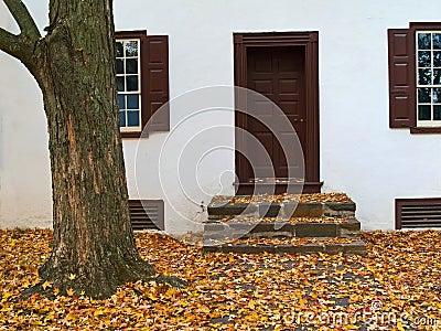 Autumn Doorstep
