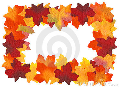 Autumn Fall Leaves Frame