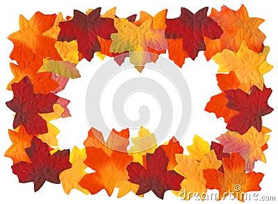 Autumn Fall Leaves Frame