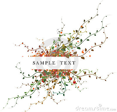 Free Autumn Floral Background Stock Images - 3155404