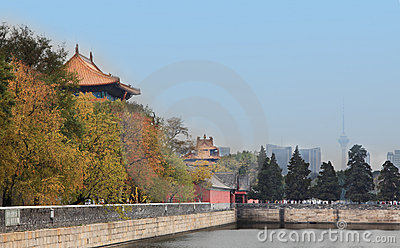 Autumn forbidden city
