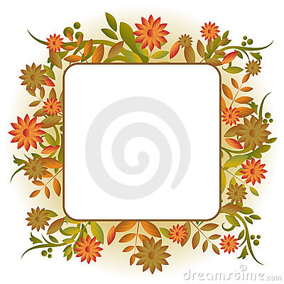 Free Autumn Frame Stock Images - 15548224