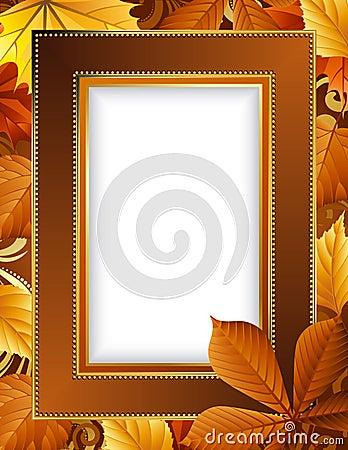 Autumn frame