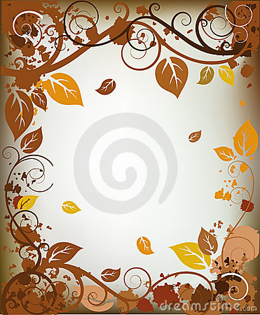 Free Autumn Frame Royalty Free Stock Image - 8789316