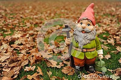 Autumn Garden Gnome