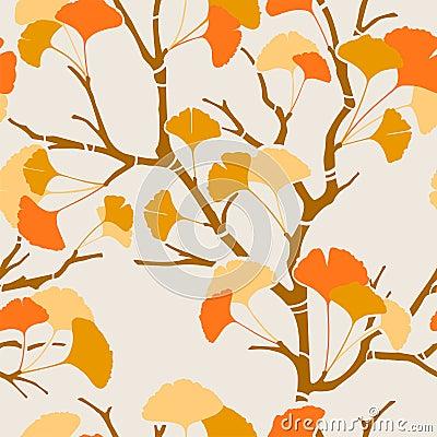 Autumn ginkgo