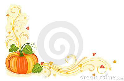 Autumn harvest with tasty pumpkin