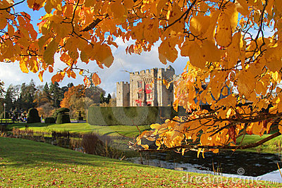 Autumn in Hever Castle