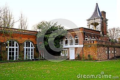 Autumn house