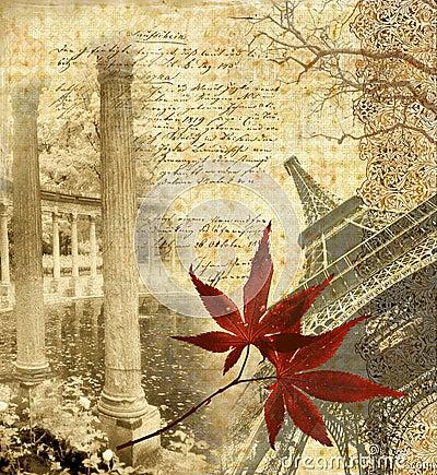 Free Autumn In Paris Stock Image - 3159481