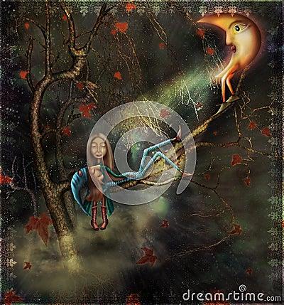 Free Autumn.Its Dream. Stock Image - 12644501