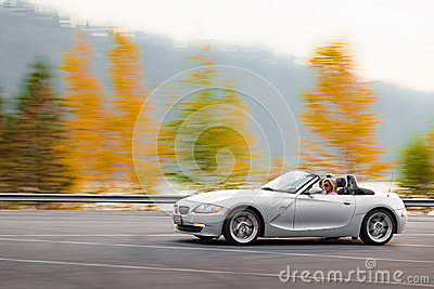 Autumn joy ride