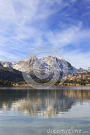 Autumn at June Lake in California
