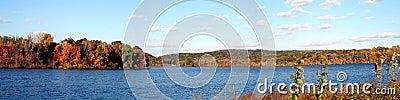 Autumn Lake Panoramic