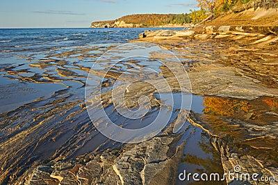 Autumn Lake Superior Shoreline