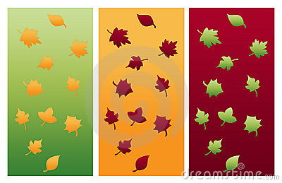 Autumn Leaves Compositions