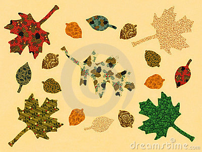 Autumn Leaves, original artwork