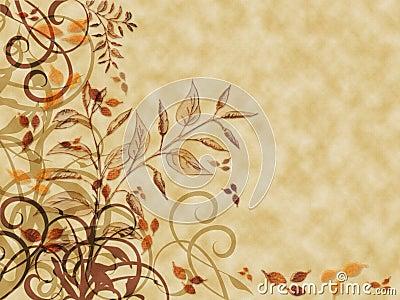 Autumn Leaves Parchment