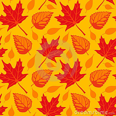 Autumn Leaves seamless