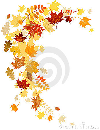Free Autumn Leaves Swirl Stock Photos - 16938133