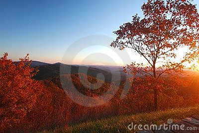 Autumn Morning, Shenandoah