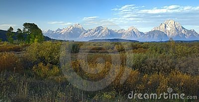 Autumn Morning, The Tetons