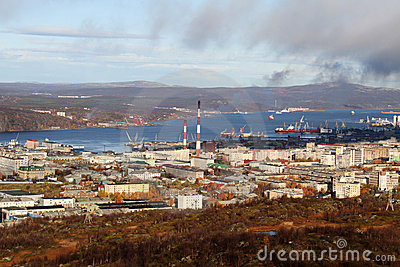 Autumn in Murmansk