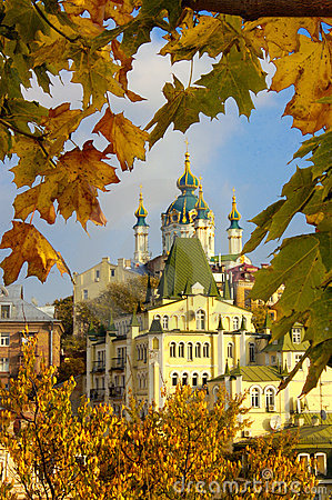 Autumn old Kyiv