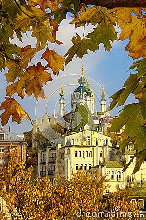Autumn old Kyiv