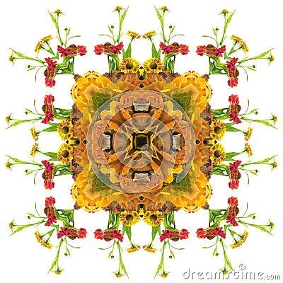 Free Autumn Orange Mandala Royalty Free Stock Photo - 290335