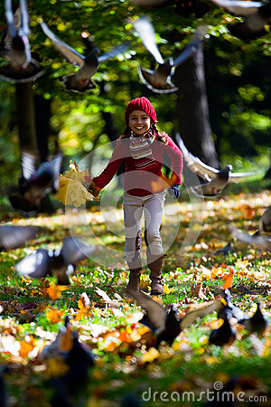 Free Autumn Park Royalty Free Stock Photography - 27239847