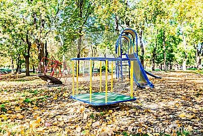 Autumn playground