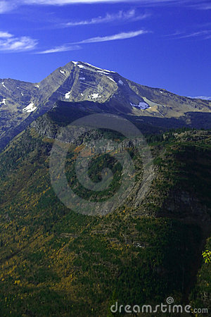 Autumn poplars, mountain valleys & ridges