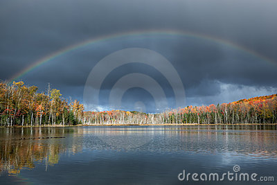 Autumn Rainbow Scout Lake