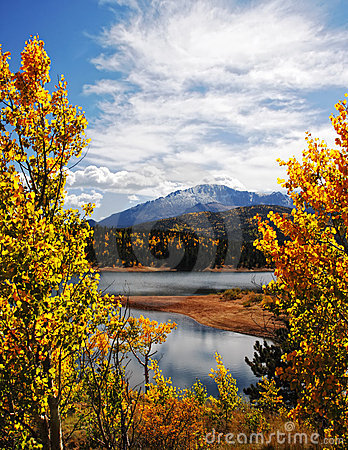 Autumn Rocky Mountain Landscape