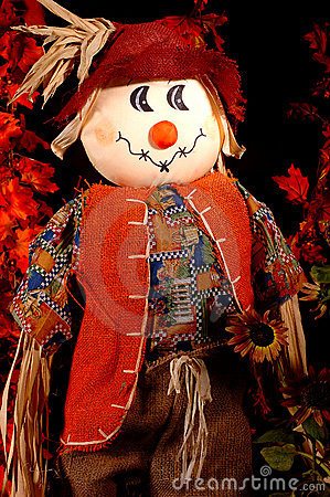 Autumn Scarecrow Two
